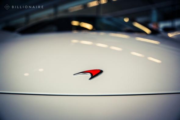 McLaren's badge