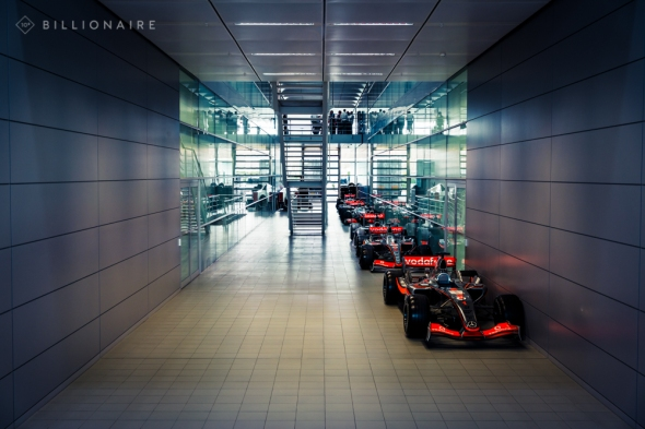 ^ F1 cars lined up