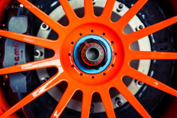 Orange wheel
